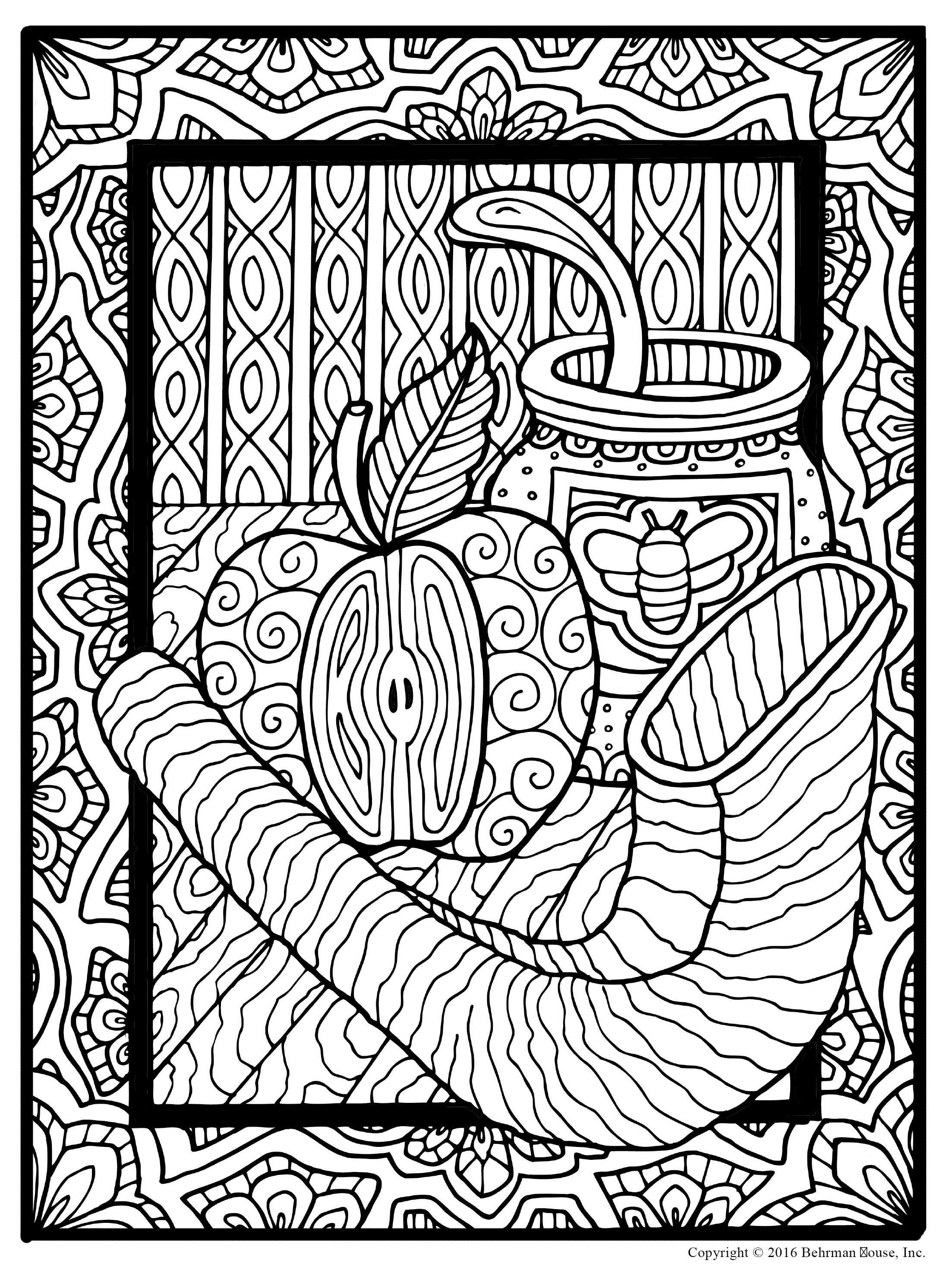 The new alternative to meditation behrman house publishing for Torah coloring pages