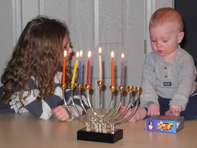 Where can learn about hanukkah decorations