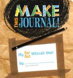 Make This Journal! My Bar/Bat Mitzvah Year