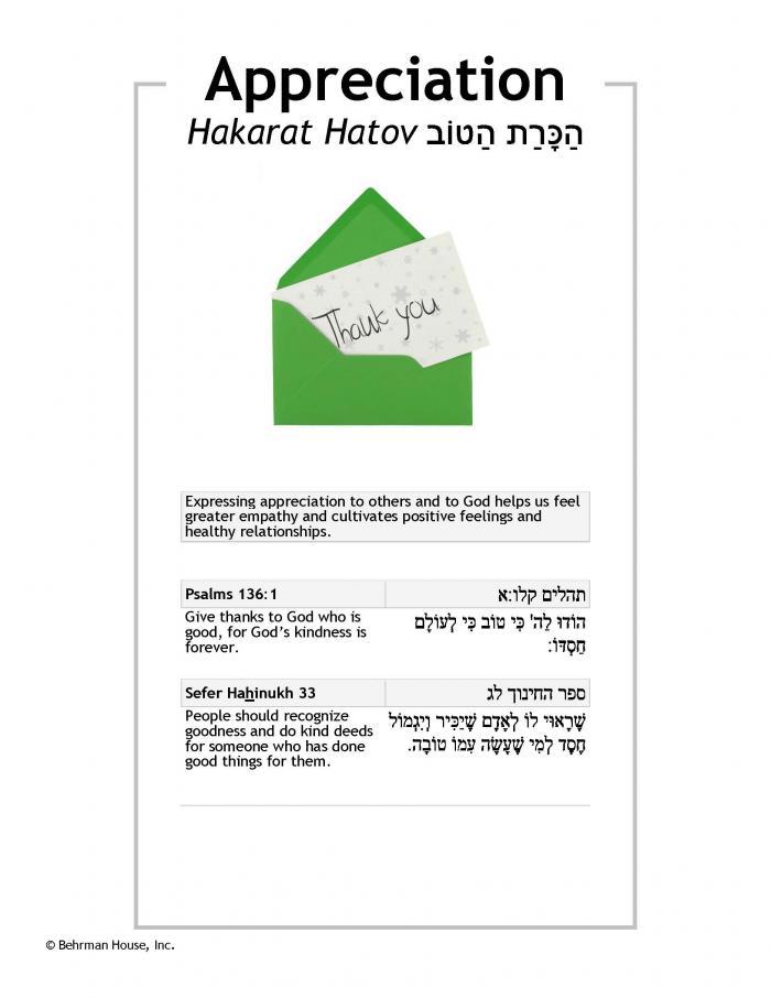Appreciation PDF