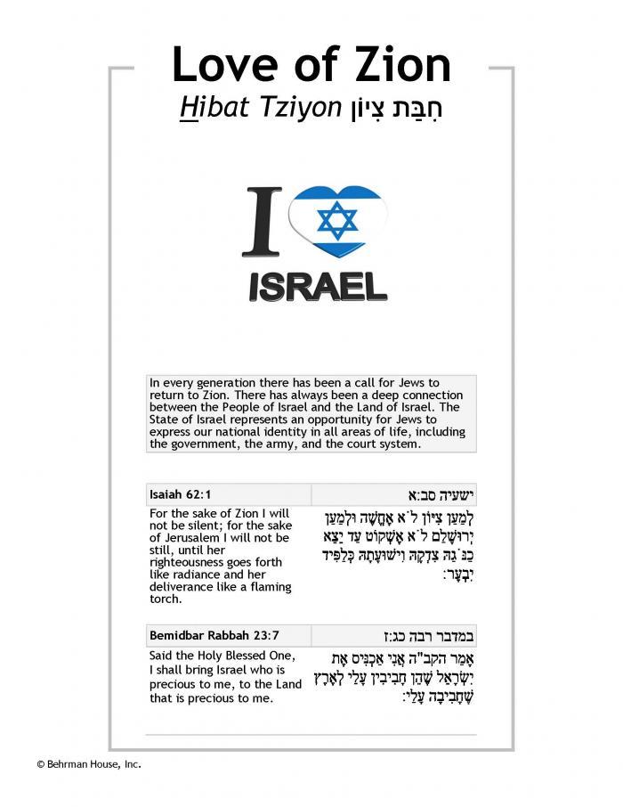 Love of Zion PDF