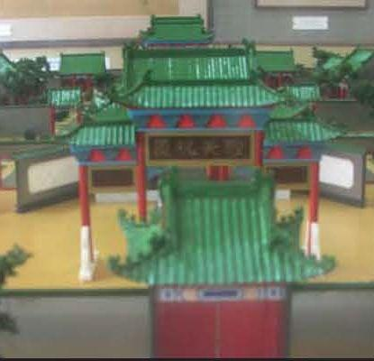 Model of the Kaifeng Synagogue before the 1642 flood