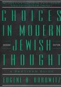 Choices in Modern Jewish Thought