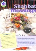 For the Family: Shabbat Blessings - Set of 10 Folders