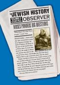 Jewish History Observer 1: The Challenge of Becoming a People