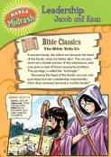 Manga Midrash: Leadership: Jacob and Esau
