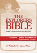 Explorer's Bible 1 Lesson Plan Manual