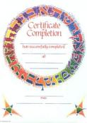 Completion Certificate -Alef Bet
