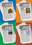 Jewish History Observer - Set of 4 Booklets