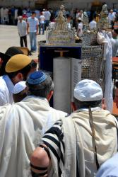 a Bar Mitzvah at the Western Wall