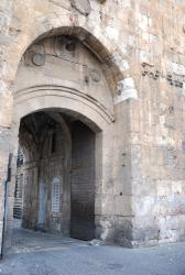 Lion's Gate in Jerusalem