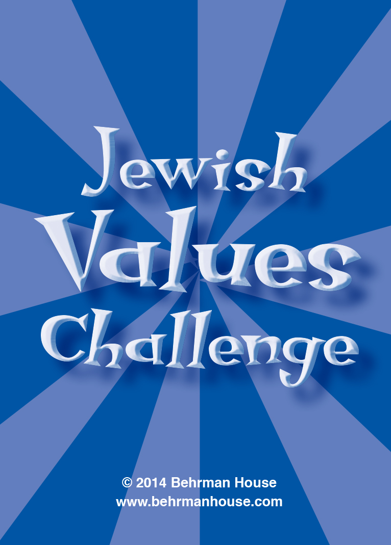 Jewish Values Challenge Playing Cards | Behrman House ...